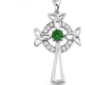 Silver Celtic Crosses
