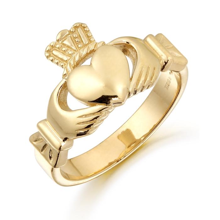 Gents Claddagh Ring - 136A