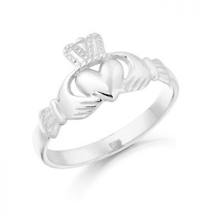 Gold Claddagh Ring-CL5W