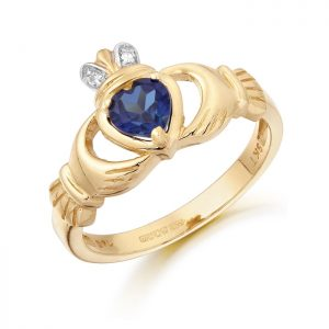 Claddagh Ring-CL25SAP