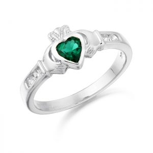 Claddagh Ring-CL100GW