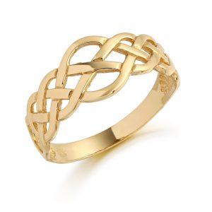 9ct Gold Celtic Ring-3240