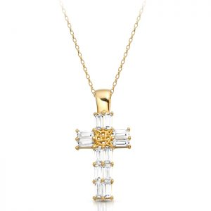 Gold Celtic Cross - P212