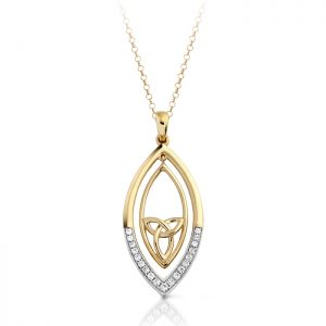 9ct Gold Celtic Pendant-P020