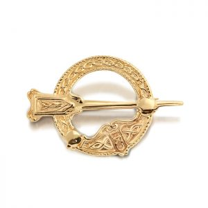 9ct Gold Tara Celtic Brooch - BR15