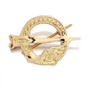 9ct Gold Tara Celtic Brooch - BR31