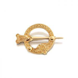 9ct Gold Tara Celtic Brooch - BR32