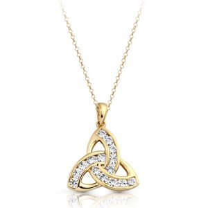 9ct Gold Celtic Pendant-P012