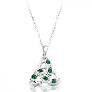 Silver Celtic Pendant-SP012G