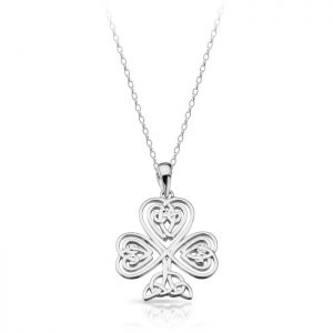 Silver Celtic Pendant-SP032