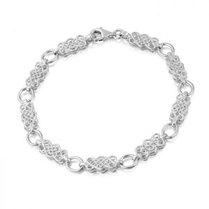 Silver Celtic Bracelet-SB01