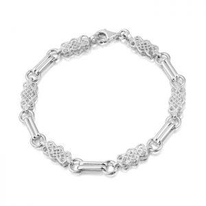 Silver Celtic Bracelet-SB02