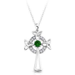 Silver Celtic Cross-SC01
