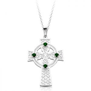 Silver Celtic Cross-SC02
