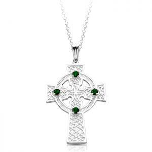 Silver Celtic Cross-SC02