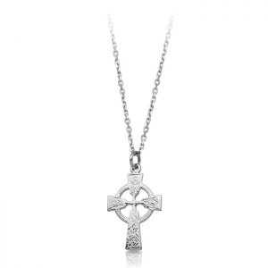 Silver Celtic Cross-SC112
