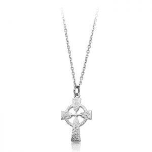 Silver Celtic Cross-SC112