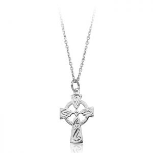 Silver Celtic Cross-SC113