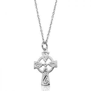 Silver Celtic Cross-SC114