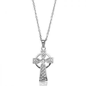 Silver Celtic Cross-SC127
