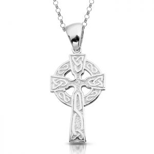 Silver Celtic Cross-SC132