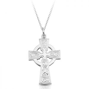 Silver Celtic Cross-SC135
