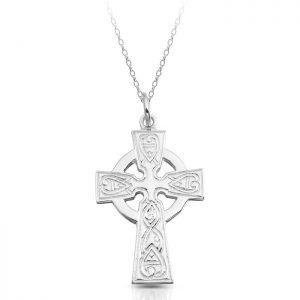 Silver Celtic Cross-SC135