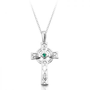 Silver Celtic Cross-SC138G