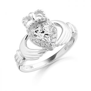 Silver Claddagh Ring-SCL28