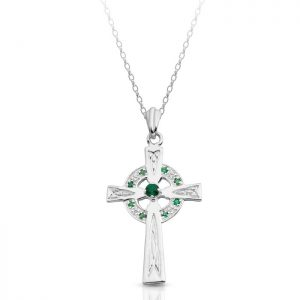 Silver Celtic Cross-SC111G