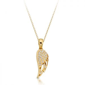 Angel Wing Pendant-P041LS
