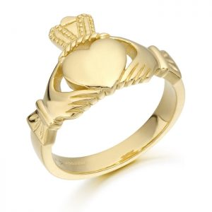 Mens Claddagh Ring-139A