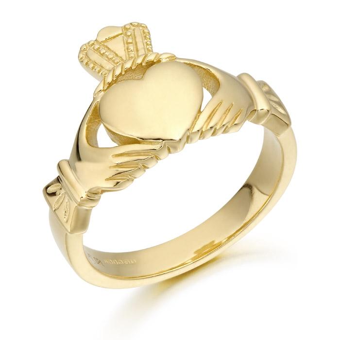 Mens Claddagh Ring - 139A