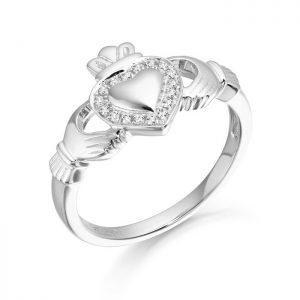 Silver Claddagh Ring-SCL32