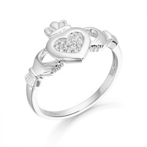 Silver Claddagh Ring-SCL33