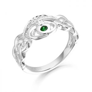 Silver Claddagh Ring-SCL35