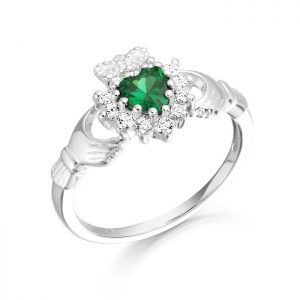Silver Claddagh Ring-SCL36