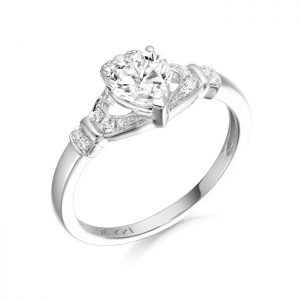 Silver Claddagh Ring-SCL37