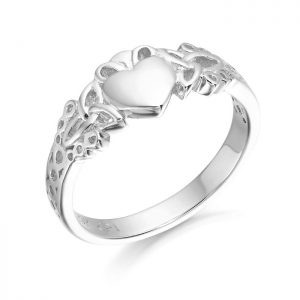 Silver Claddagh Ring-SCL40