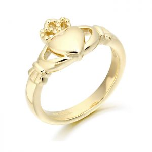 Ladies Claddagh Ring-CL2
