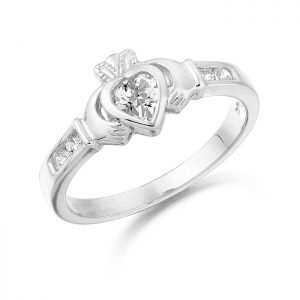 Claddagh Ring-CL100W