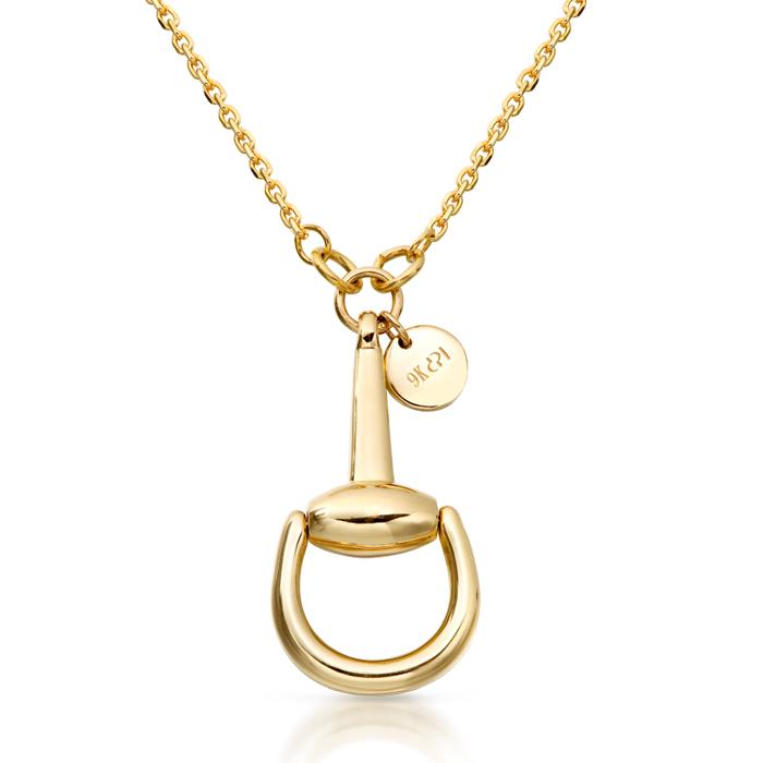 Snaffle Horsebit Pendant - P42 - P