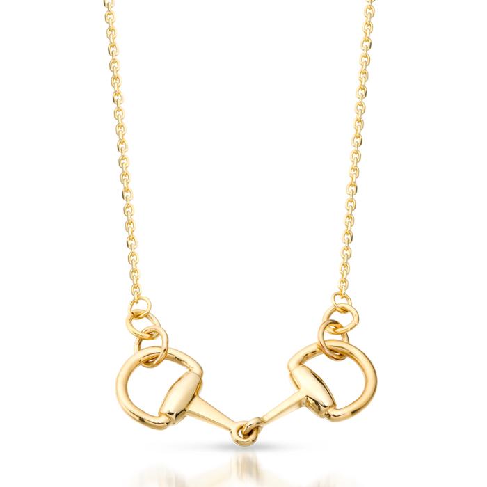 Horsebit Necklace - P44