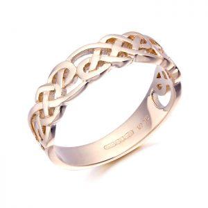 9ct Rose Gold Celtic Ring-3242R