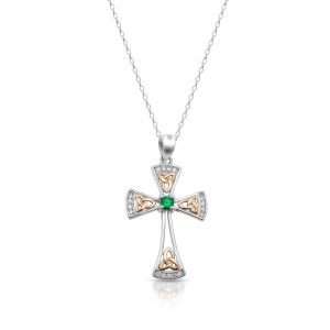 Silver Celtic Cross-SC84