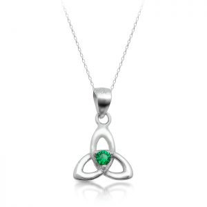 Silver Trinity Knot Pendant-SP86