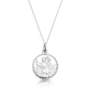 Silver Saint Christopher Medal - SST31