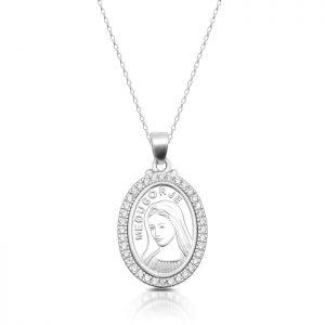 Silver Medugorje Medal - SM39