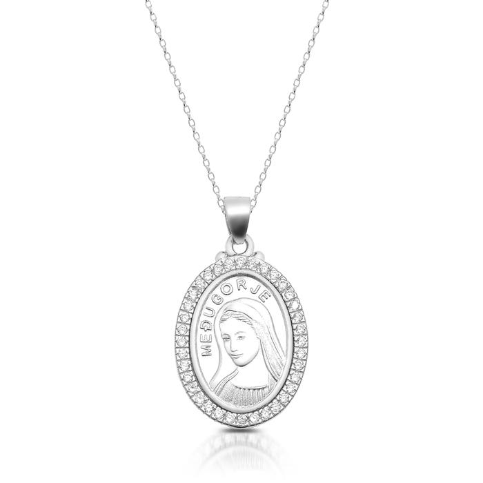 Silver Medugorje Medal-SM39