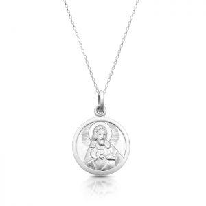 Silver Sacred Heart Medal - SM40